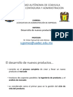 Desarrollo de Productos - VSdLG_inicio