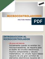 Microcontroladores historia- arquitectura aplicaciones