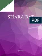 SHARA BAT