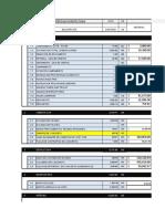 Presupuesto y Cantidad Ep