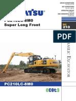 PC210LC-8M0 Super Long Front