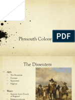 plymouth colony ppt