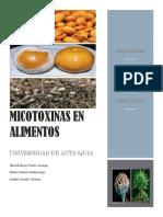 Micotoxinas en Alimentos Final