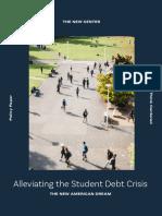 Alleviating the Student Debt Crisis