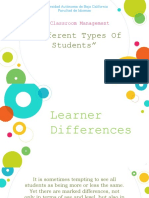 Types of Learners 1.0