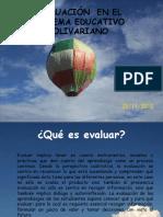 Evaluaciòn de Los Aprendizajes (Oficial MPPE)