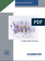 HAMILTON Duracal pH Buffers