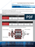 TP Info Sheet 19 Alternator Winding Temp