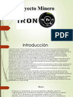 PPt Proyecto Minero Iron Fe Final