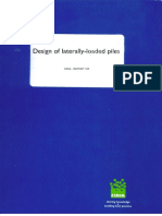 Report 103 - Design of Laterally Loaded Piles