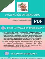 EVALUACIÓN DIFERENCIADA PPT