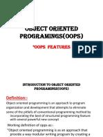 OOP features