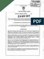 Decreto 1949 de 2017
