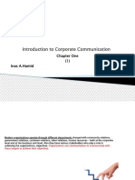Introduction to Corporate Communication1