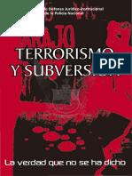Terrorismo y Subversion(1)