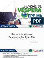 Alice Rocha - Direitos Humanos - Revisão de Véspera DPE-MA 20200