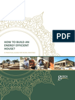 How to Build an Energy Efficient House