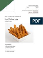 Sweet Potato Fries _ MCA