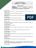 Docuemto de Conulta. Legislación Archivistica