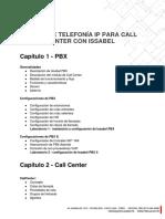 Temario Issabel PBX - Call Center