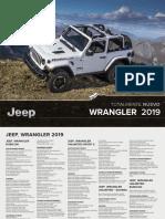 Jeep Wrangler 2019 Ficha Tecnica