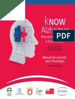 Know Alzheimer Psicologos