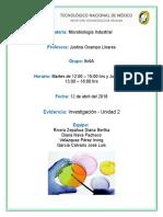 Microbiología Ind. - Unidad 2