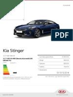 Kia Configurator Kia Stinger 3.3 t Gdi Awd Gt 20181015