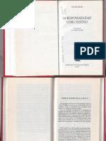 Václav Havel. Sobre El Sentido de La Carta 77