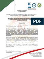 Acuerdo 009 Derechos Pecuniarios 2018