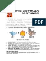 Manual de Uso Un Manejo de Extintores
