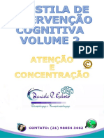 APOSTILA DE INTERVENÇÃO COGNITIVA VOLUME 2 ATENÇÃO E CONCENTRAÇÃO DANIELE GALVÃO.pdf