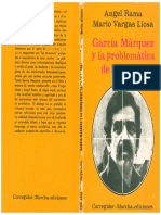 Rama, Ángel, Mario Vargas Llosa, García Márquez y La Problemática de La Novela