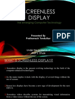 Screenless Display Ppt