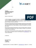 Brochure de Servicios Lesoft - Aposentos