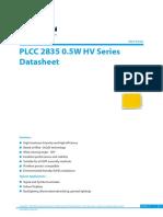 Edison Opto_PLCC 2835 0.5W HV Series_Eng_V4