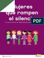 Mujeres que rompen el silencio