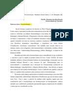 1 Resenha Fenomenologia David r Cerbone B