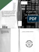 Peter Burke - Qu Es La Histori