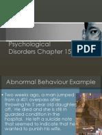 Diagnosis of Mental Illness