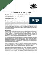Council Action Report