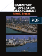 Alan E. Branch FCIT, FIEx., AITA (auth.) - Elements of Port Operation and Management-Springer Netherlands (1986).pdf