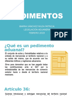 1er Parcial- Pedimentos.pptx