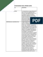 Resumen Revisoria Fiscal Primer Corte Duber Veloza