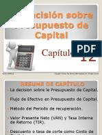 La Decision Sobre Presupuesto de Capital
