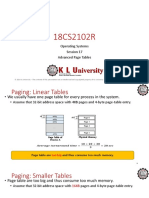 17. Advanced Page Tables.ppt