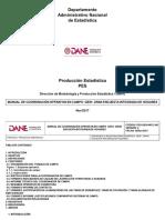 Manual de Coordinación Operativa en Campo – GEIH – Gran Encuesta Integrada de Hogares