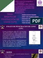 ENSAYO DE PENETRACIÓN DE CONO (CPT)