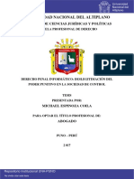 Espinoza Coila Michael - Tesis de Derecho