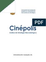 2012 Analisis Mercadotecnia Estratégica - Cinepolis